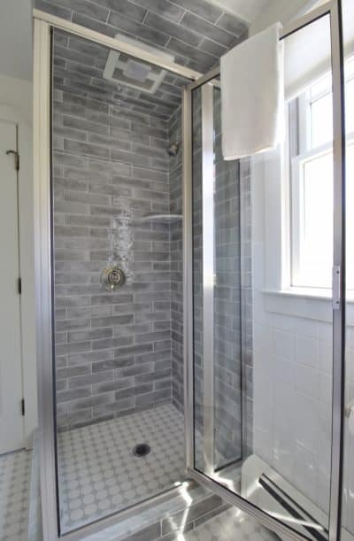 Apartment shower