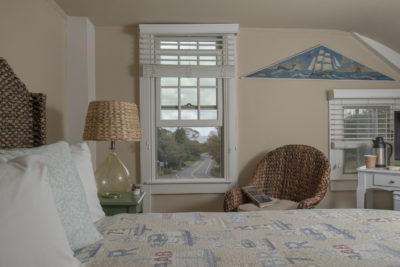 A view to the beach from your vacation room on Cape Cod