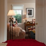Bedroom view with pocket doors