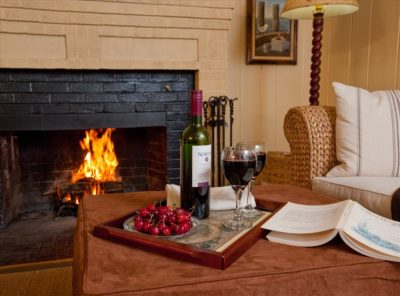Our rooms have a variety of romantic amenities