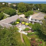 Cape Cod inn near the beach with firepit