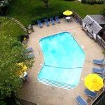 Cape Cod Inn with a pool
