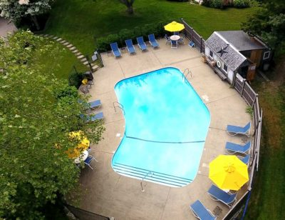 Cape Cod Inn with a pool