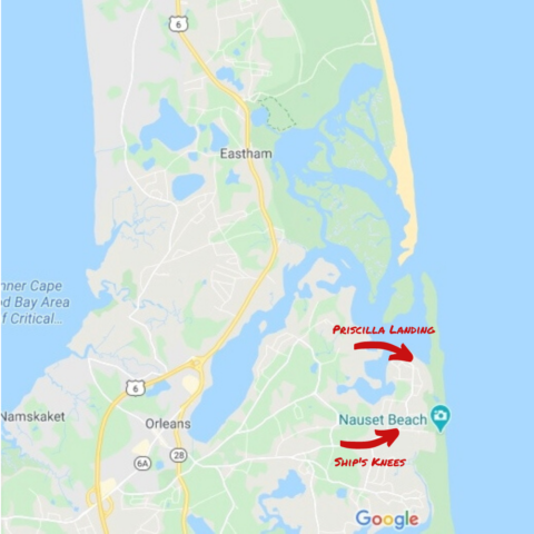 places to kayak on cape cod