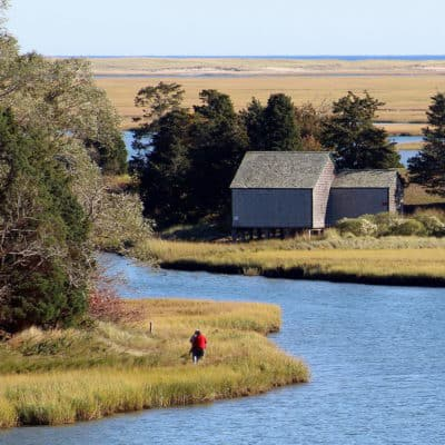 Walking the trails of Nauset march